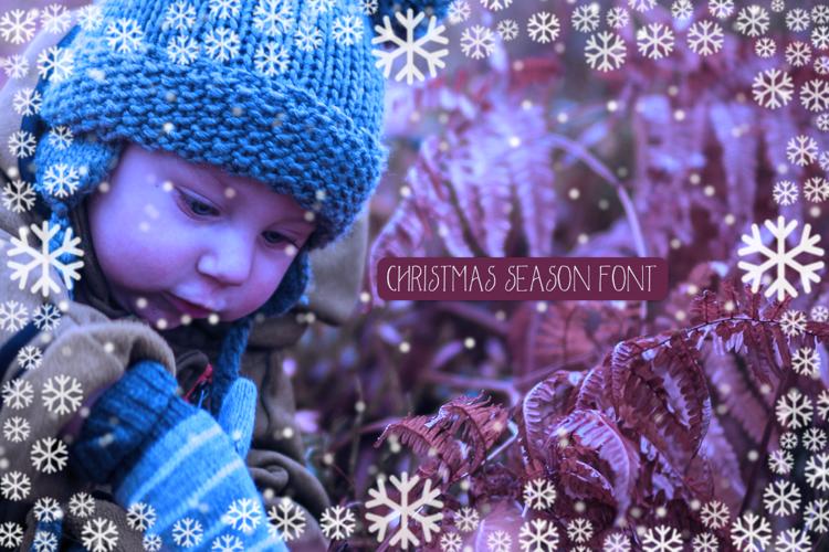 Christmas Season Font