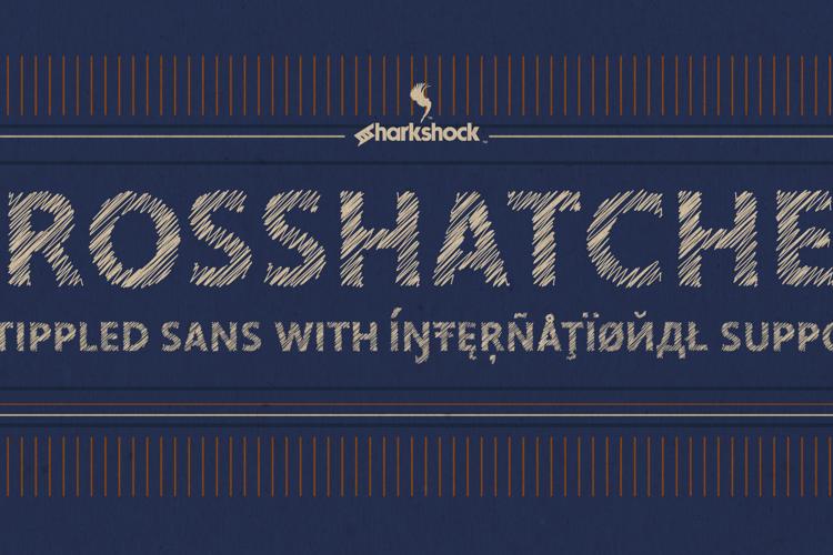 Crosshatcher Font