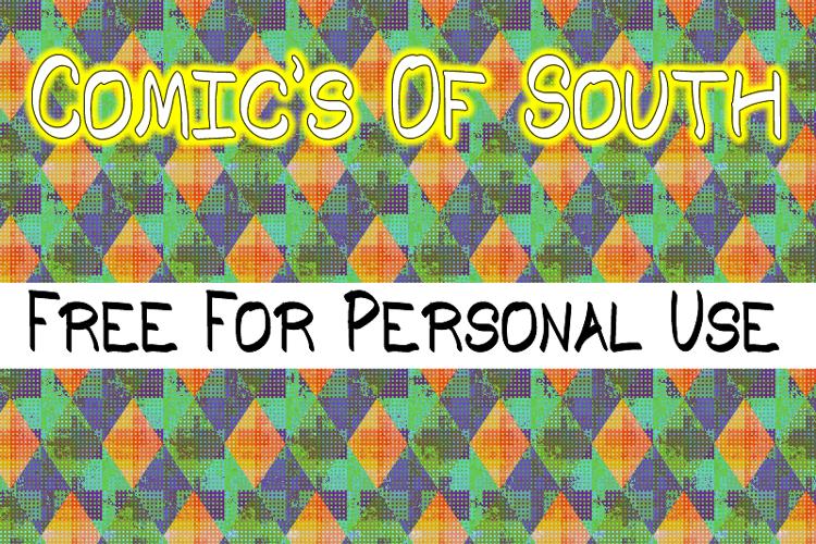 Comic's of South St Font