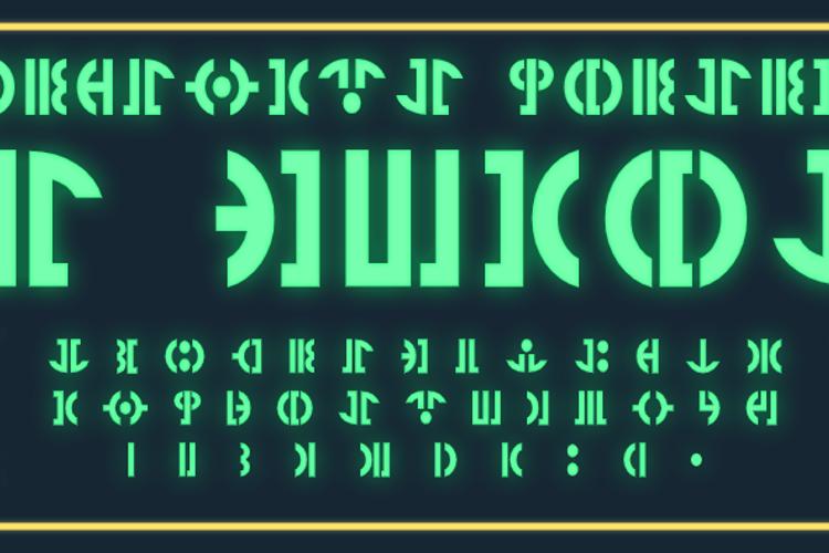 TF Gunray Font
