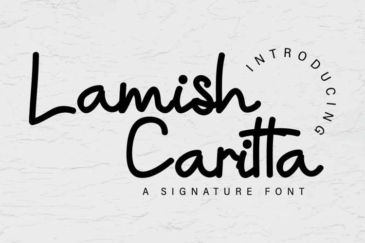 Lamish Caritta Font