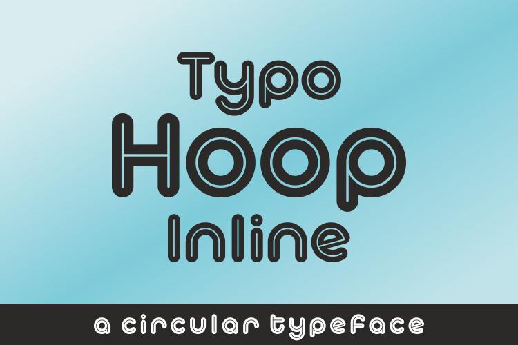 Typo Hoop Inline Demo Font