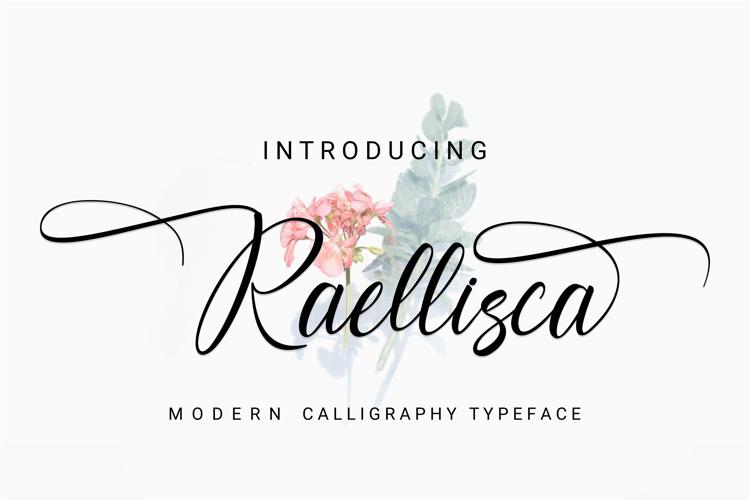Raellisca Script Font