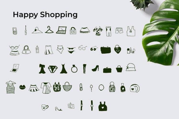 Happy Shopping Font