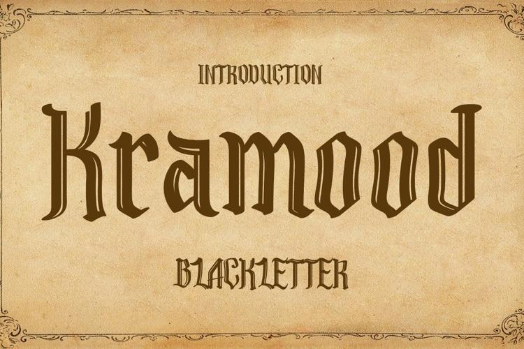 Kramood Font