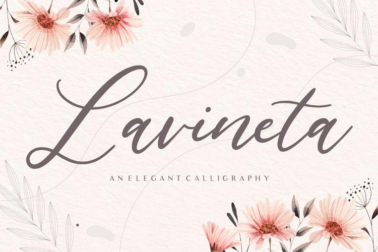 Lavineta Font
