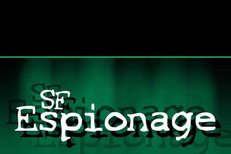 SF Espionage Font