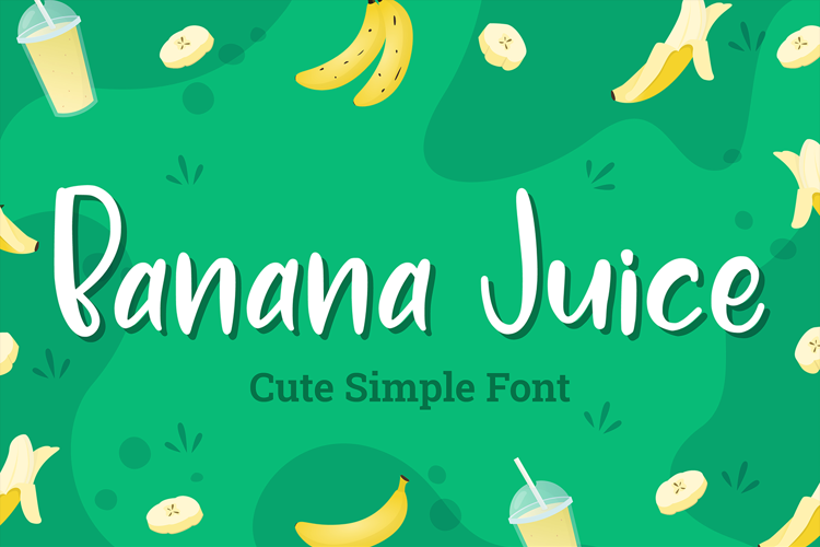 Banana Juice Font