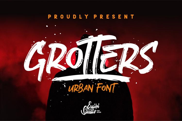 Grotters Font