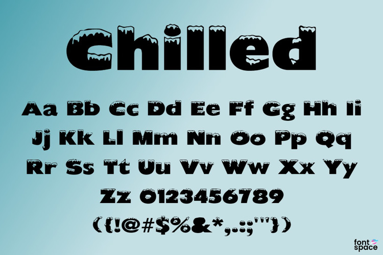 Chilled Font