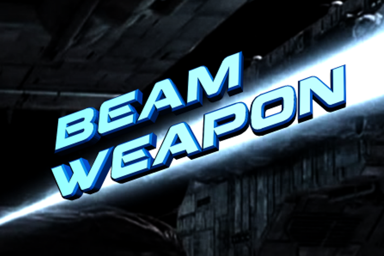 Beam Weapon Font
