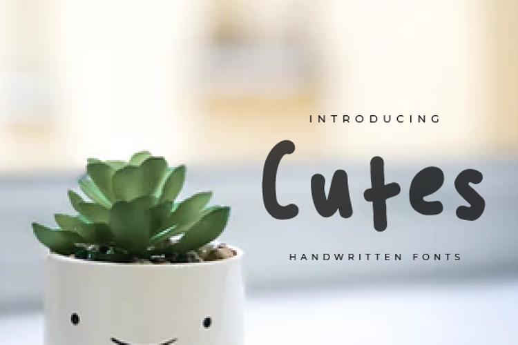 Cutes Font