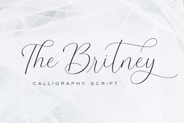The Britney Font