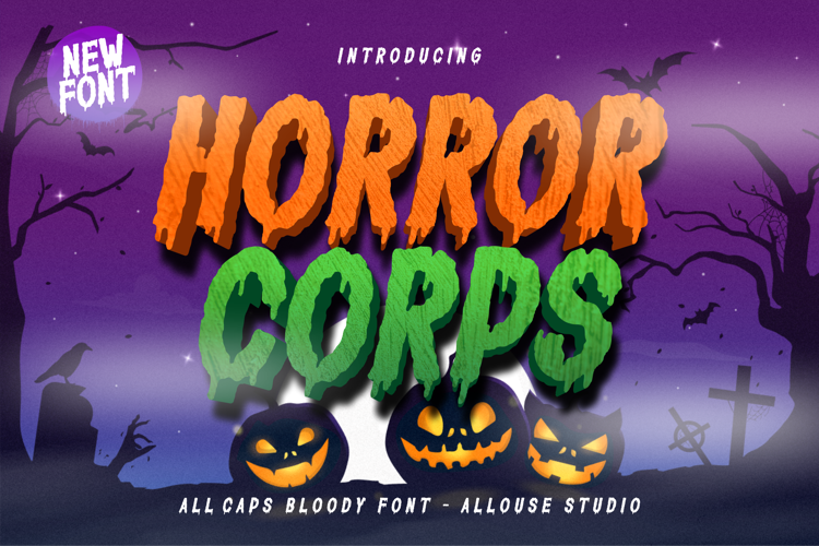 Horror Corps Font