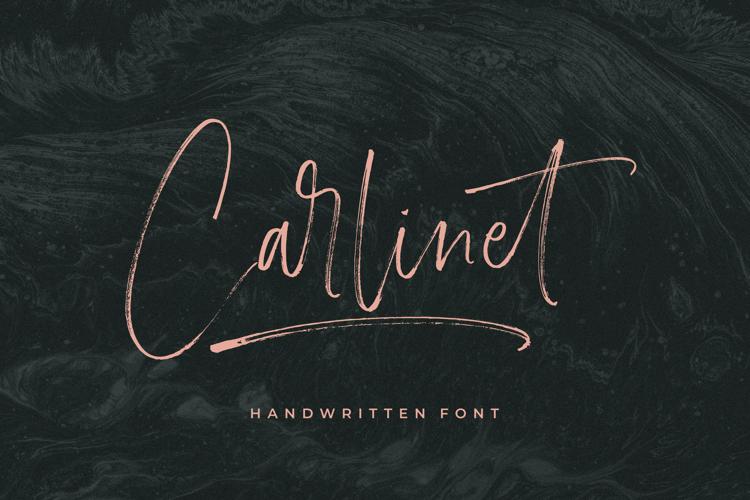 Carlinet Font