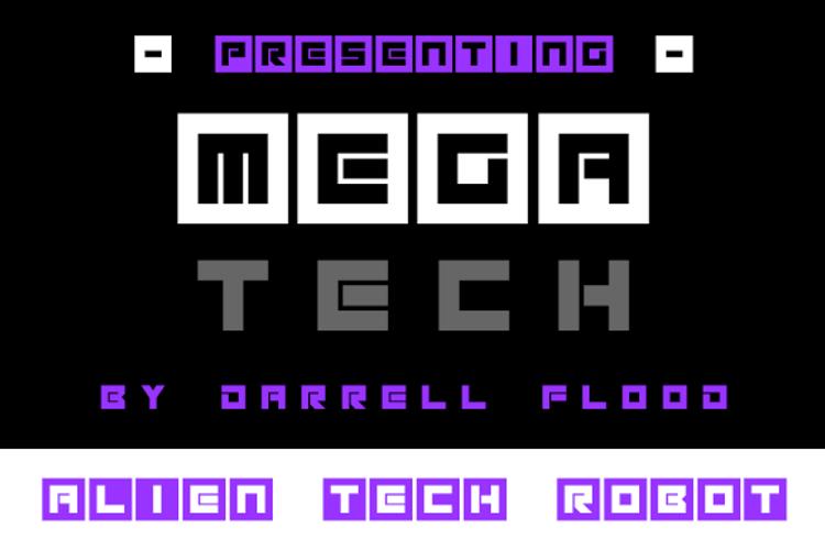 Megatech Font
