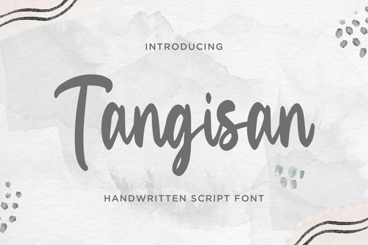 Tangisan Font