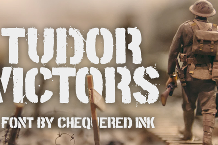 Tudor Victors Font