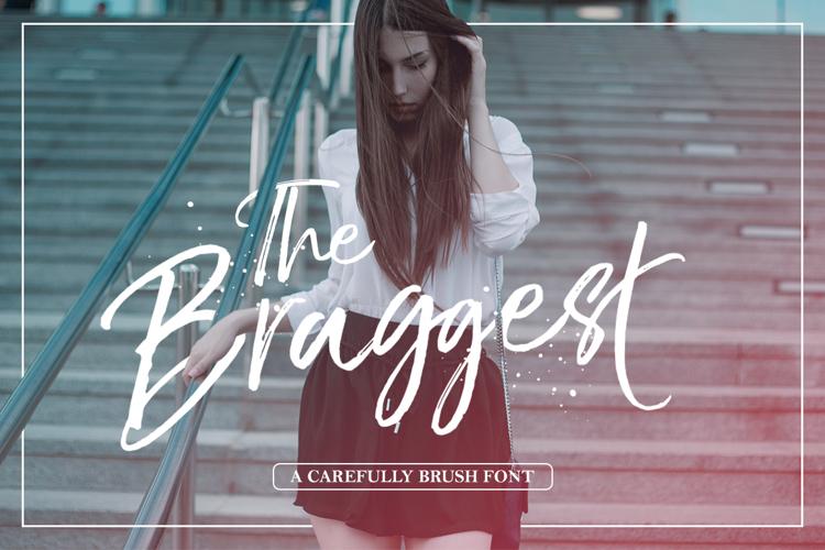 The BraggestDemo Font