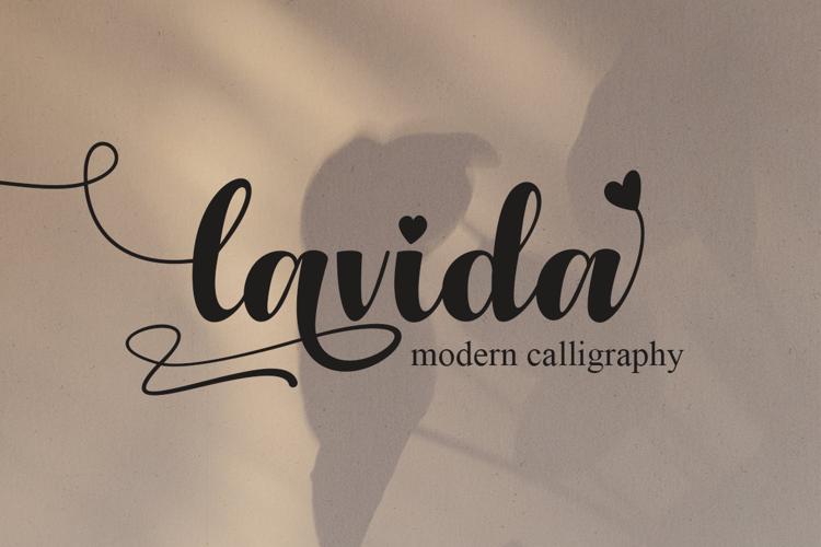 Lavida Font
