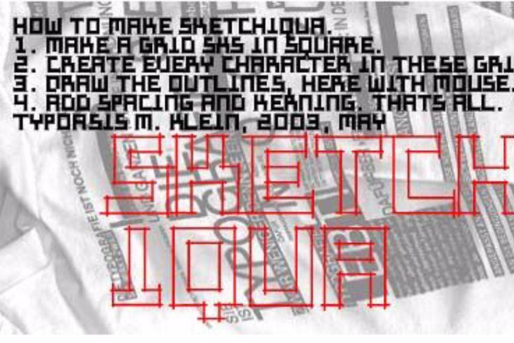 Sketchiqua Font
