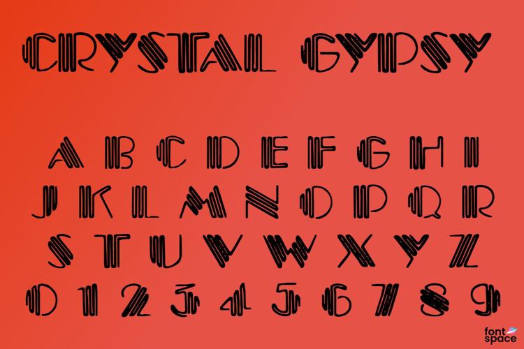 Crystal Gypsy Font