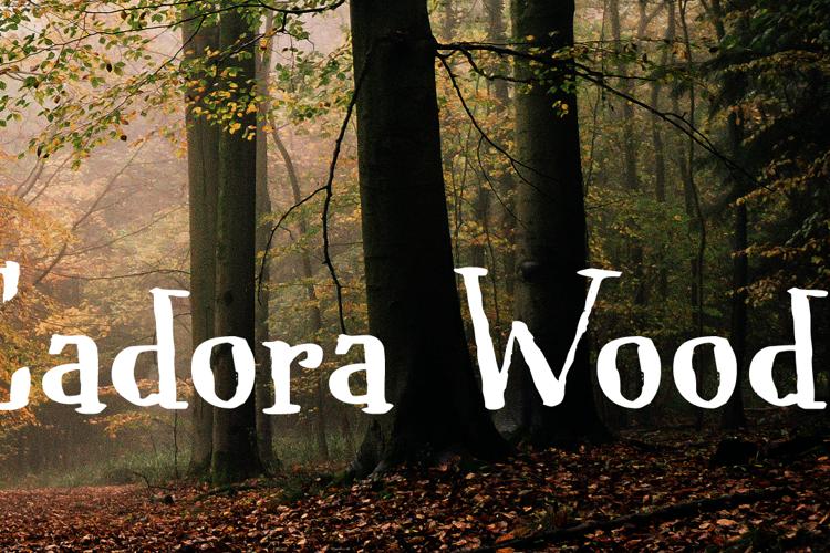 Cadora Woods Font