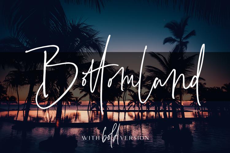 Bottomland Font