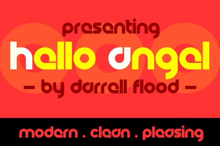 Hello Angel Font