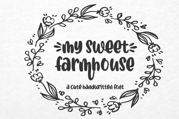 mysweetfarmhouse Font