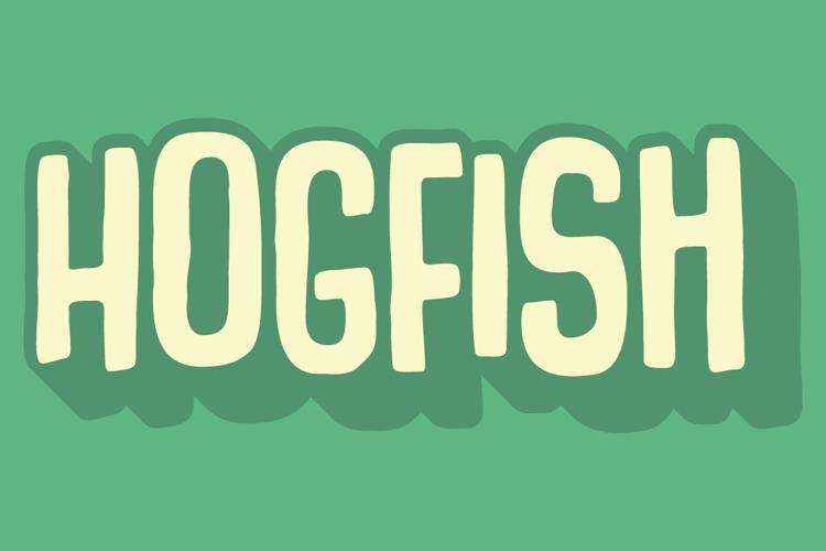 Hogfish DEMO Font