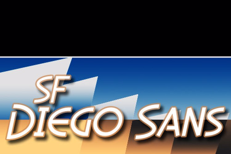 SF Diego Sans Font