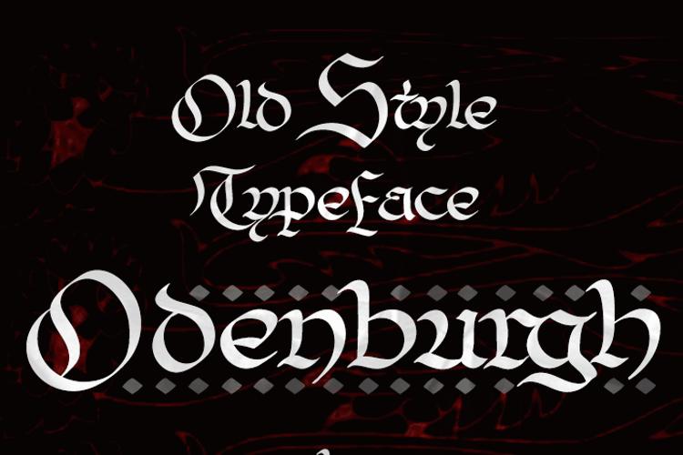 Odenburgh Font