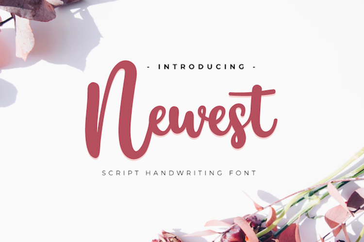 Newest Personal Font