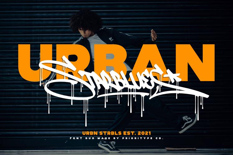 Urban Starblues Font