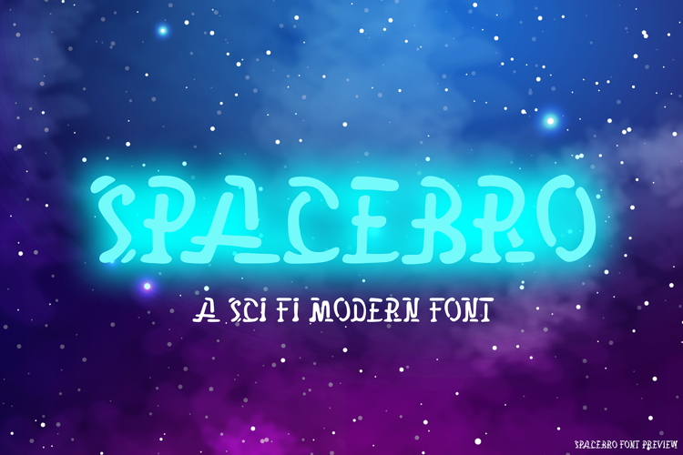 Space Bro Font