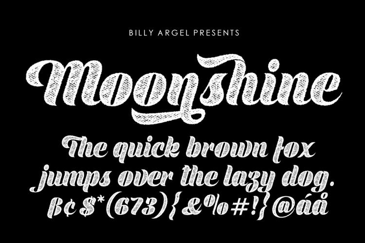 Moonshine Font