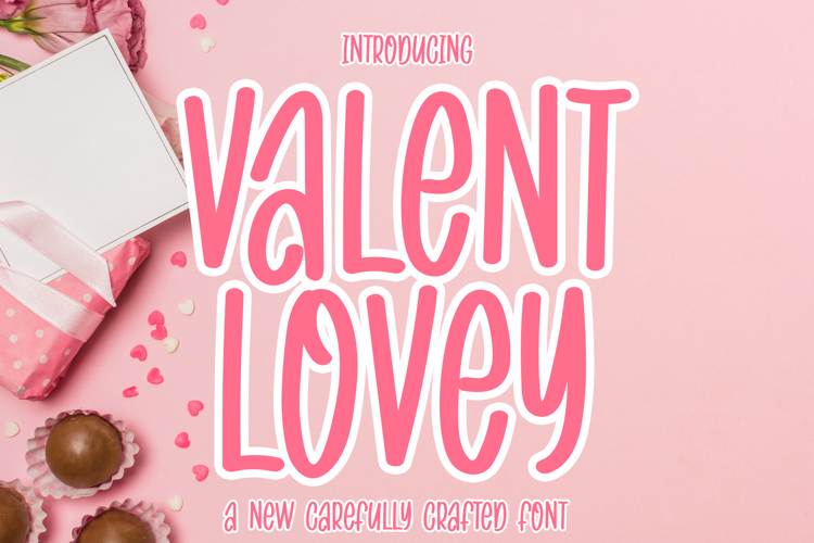 VALENT LOVEY Font
