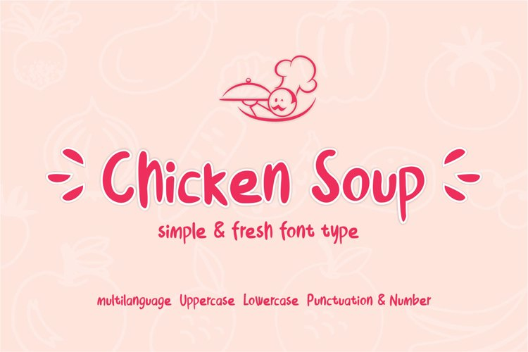 Chicken Soup Font