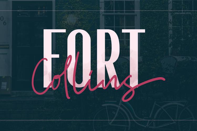 Fort Collins Caps Font