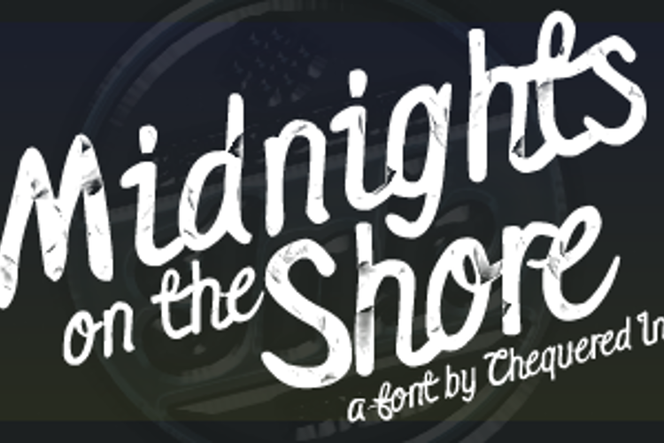Midnights on the Shore Font