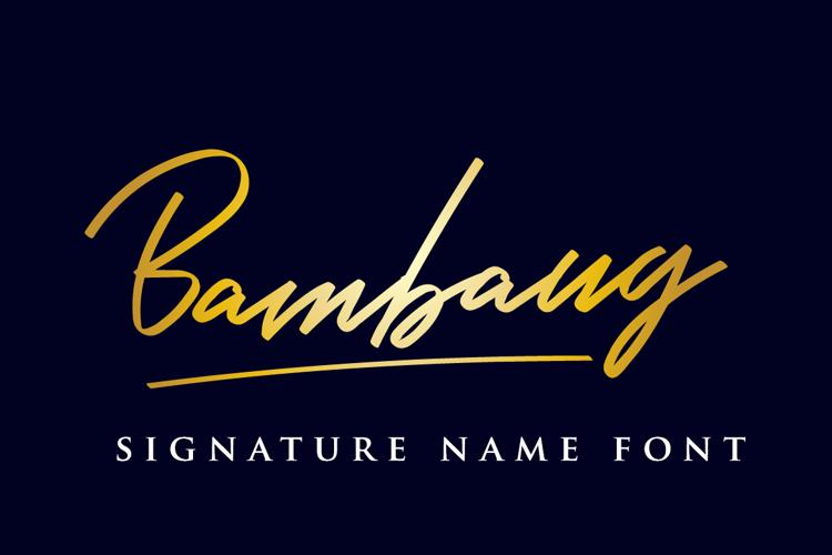 Bambang Font