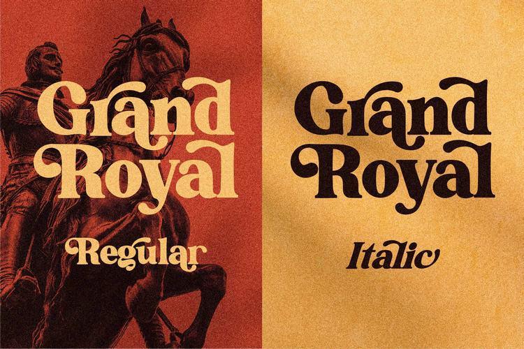 Grand Royal Font
