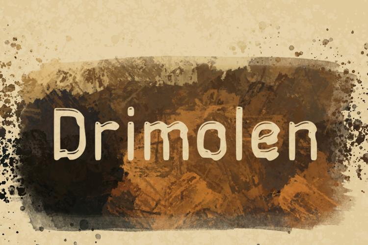 d Drimolen Font