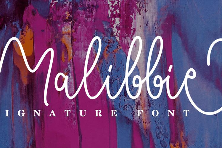Malibbie Font