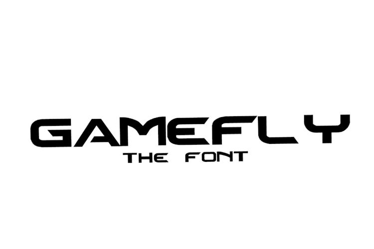 Gamefly Font