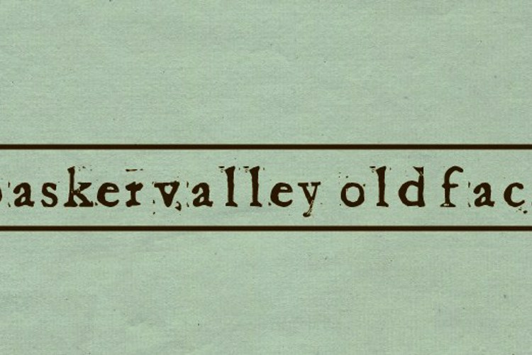 Baketvalley Old Face Font