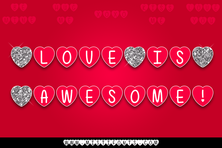 Mf Love Is Awesome Font