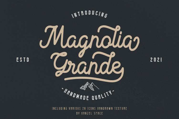 Magnolia Grande Regular Font