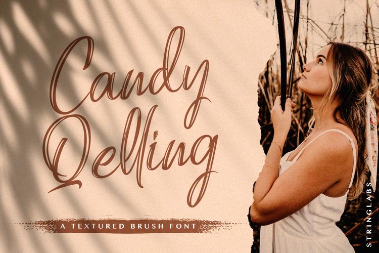 Candy Qelling Font